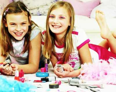 Выбор косметики для девочки подростка