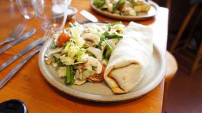 Вегетарианские блюда в Лондонском ресторане