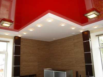 Натяжные потолки для преображения комнат