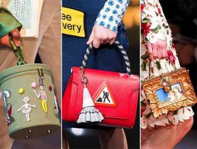 Модная сумочка – главная скрипка в образе