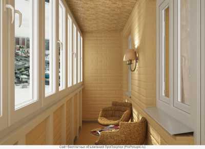 Средиземноморский стиль в интерьере балкона