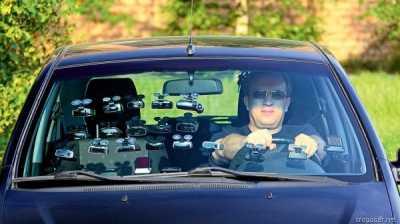 В дороге водителю поможет антирадар