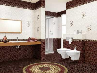 Керамическая плитка для ванной комнаты, кухни, туалета