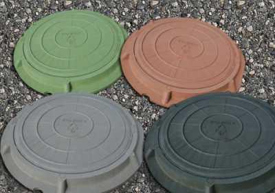 Особенности полимерно - песчаных люков