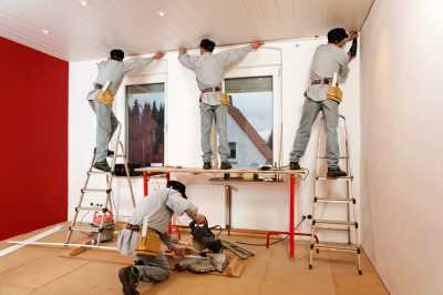 Ремонтные и отделочные работы в доме