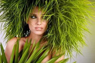 Травяные маски для волос