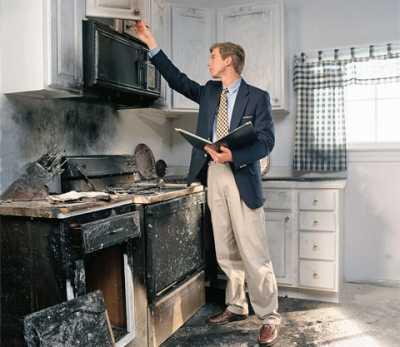 Как проходит уборка после пожара