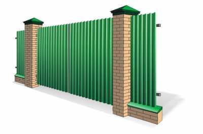 Типовые ворота распашные