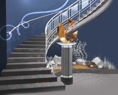 Изготовление монолитных лестниц из бетона