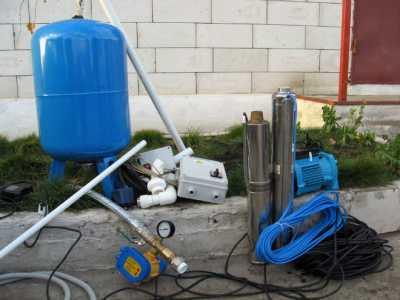 Насосное оборудование для водоснабжения частного дома