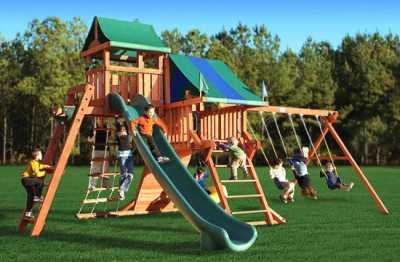 Обзор о детских игровых площадках