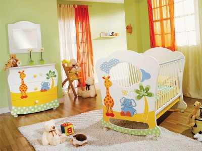 Как оформлять комнату для детей с детской качалкой