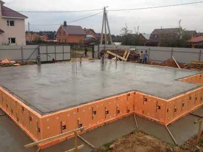 Возведения фундамента дома из бетона с Nurtau Group