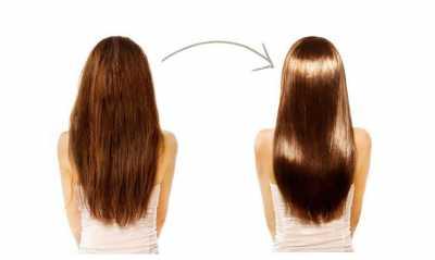 Лечебное выпрямление волос кератином