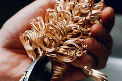 Процесс изготовления ювелирных изделий